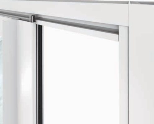 Aluminum profile window weather strip