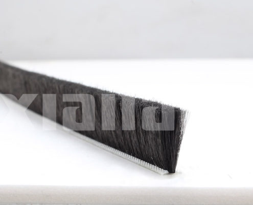 screen door weather strip black