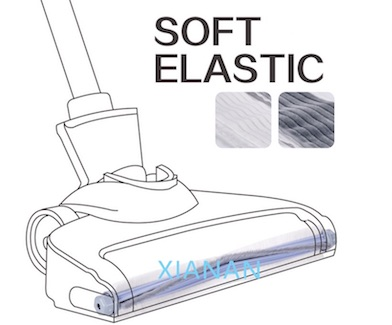 soft and resilient vacuum cleaner brush roller head accessories
